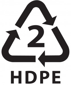 HDPE Recycle Logo